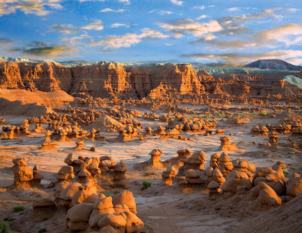 Goblin Valley State Park Art Print featuring the photograph Goblin Valley State Park Utah by Utah Images