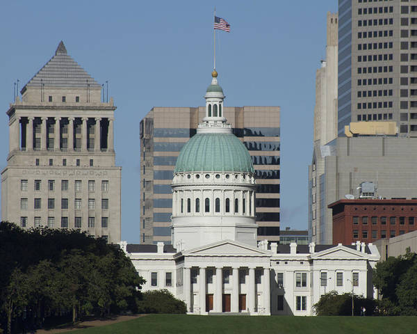 St Louis Art Print featuring the photograph The Old Federal Courthouse St Louis by Garry McMichael