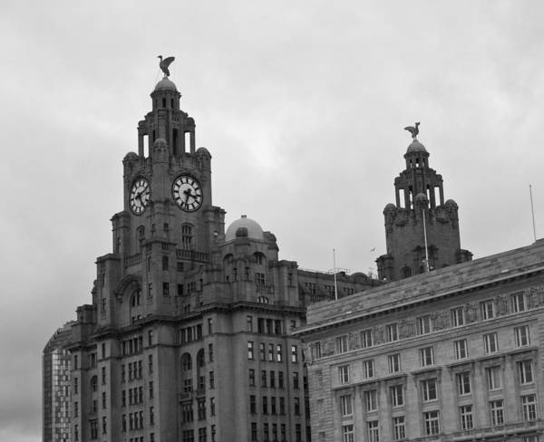 Royal Liver Building Art Print featuring the photograph Royal Liver Building by Georgia Fowler