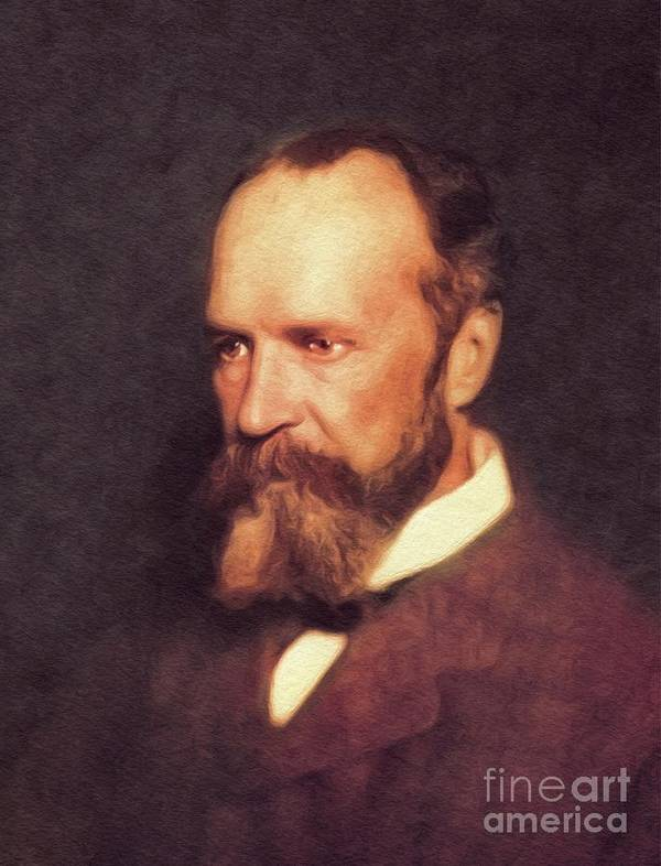 William James, Literary Legend by Esoterica Art Agency