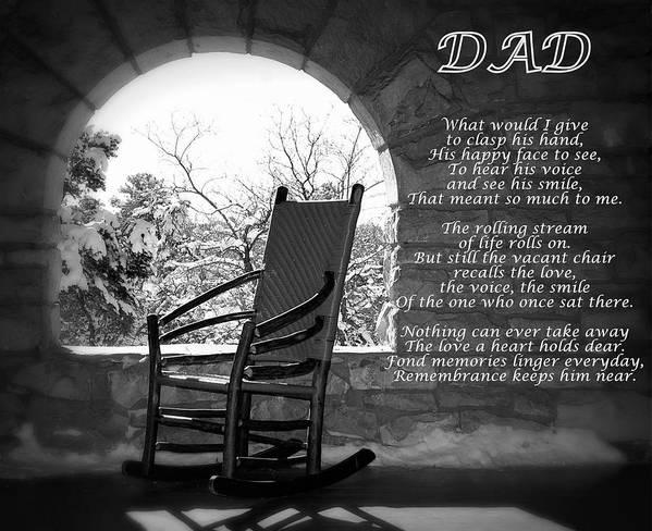 Missing Dad Poem by James DeFazio