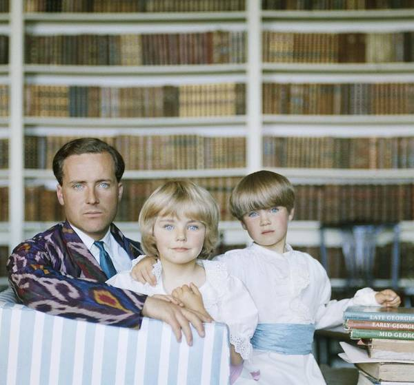 Material Art Print featuring the photograph Guinness Family by Slim Aarons