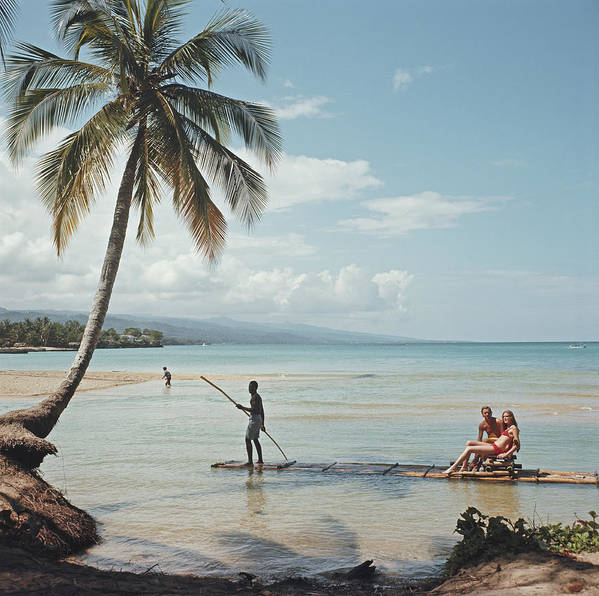 People Art Print featuring the photograph Kasimir Korybut by Slim Aarons