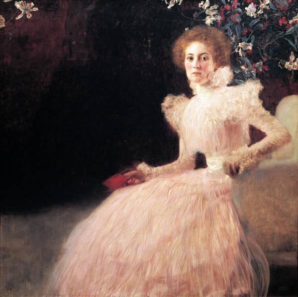 Portrait of Sonja Knips by Gustav Klimt