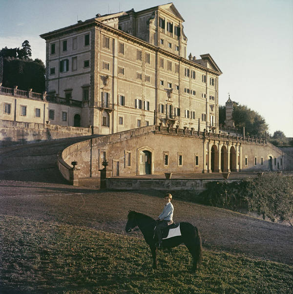 Horse Art Print featuring the photograph Don Giovanni by Slim Aarons