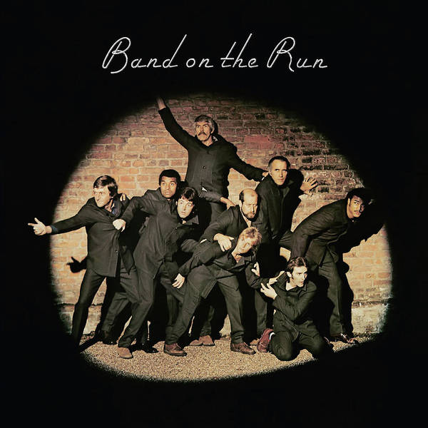 Tribute to Band on the Run by Paul McCartney and Wings by Poster Frame Print Printed