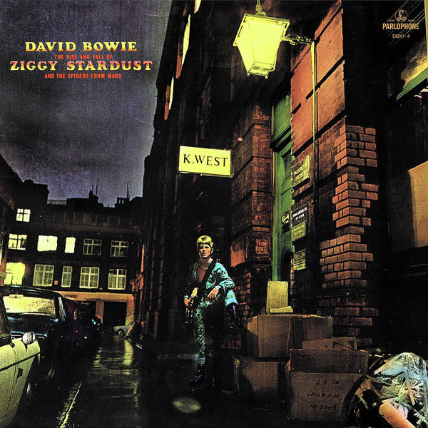 Tribute to The Rise and Fall of Ziggy Stardust and the Spiders From Mars by David Bowie by Poster Frame Print Printed