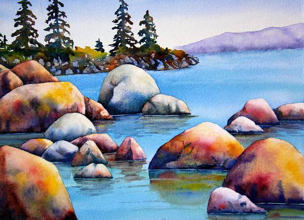 Tahoe Rocks by Eva Nichols