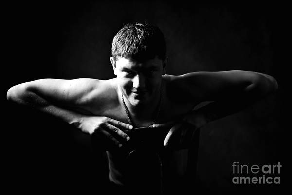 Portrait Art Print featuring the photograph Untitled 6 by Vadim Grabbe