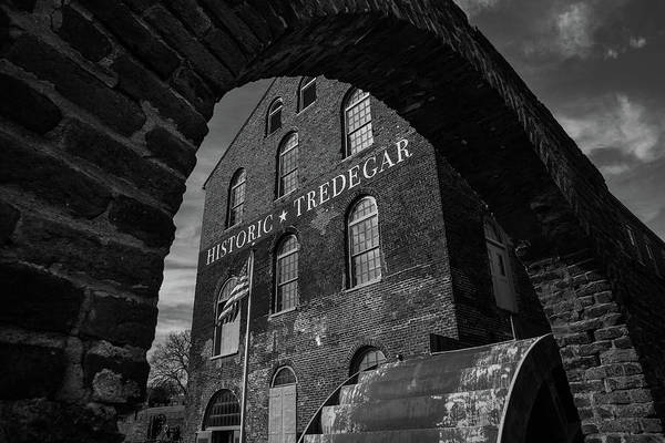 Tredegar Art Print featuring the photograph Tredegar Iron Works, Richmond by Fred DeSousa