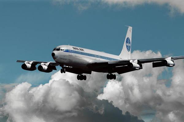Classic Pan Am Boeing 707 by Erik Simonsen