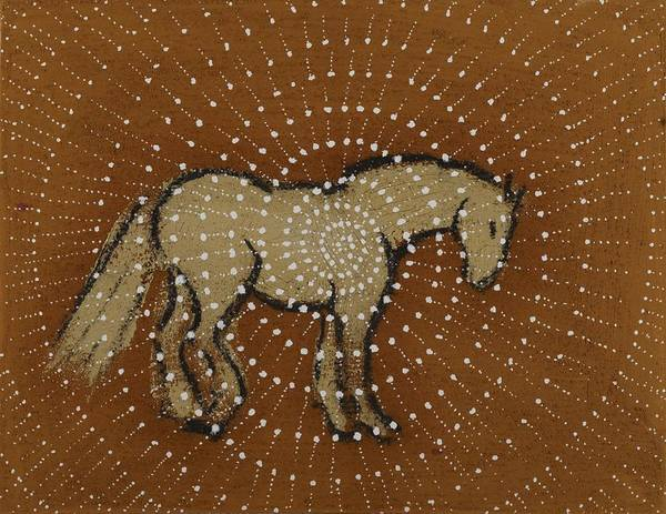 Dream Spiral Horse by Sophy White