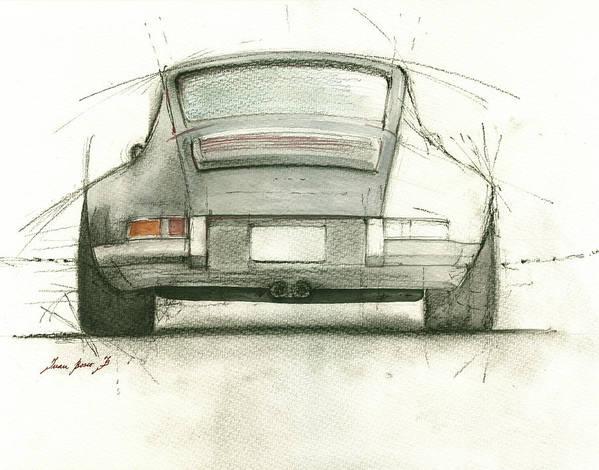 Porsche 911 rs by Juan Bosco