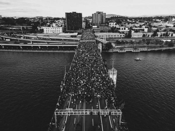 Portland Protests #10 by Andrew Wallner