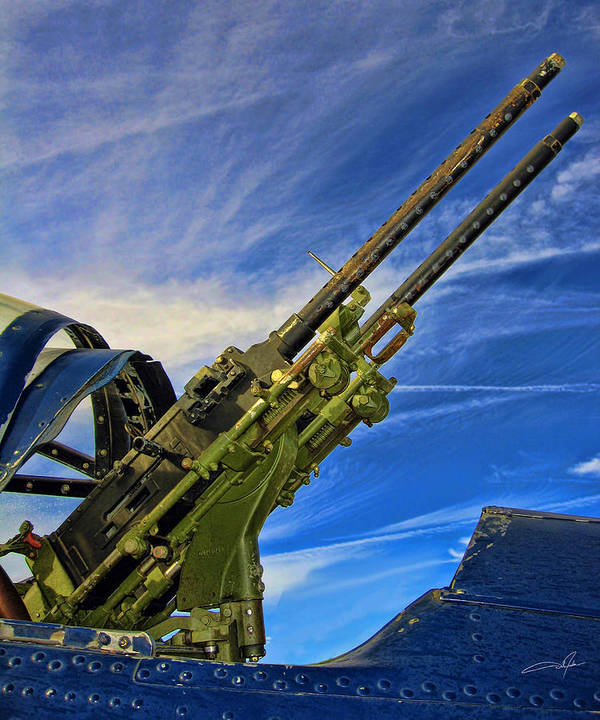 Tail Gun Art Print featuring the photograph Dauntless Tail Gun by Dale Jackson