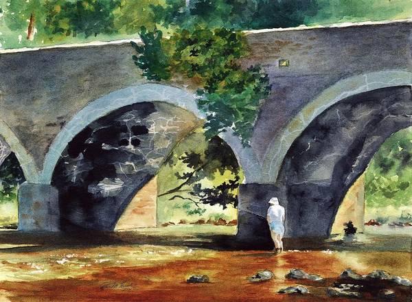 Old York Road Bridge Neshaminey Creek Bucks County PA by Paul Temple