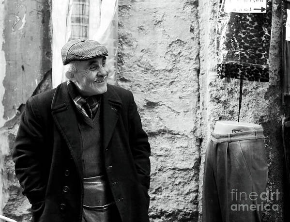 Sultanhmet Art Print featuring the photograph Grandpa by John Rizzuto