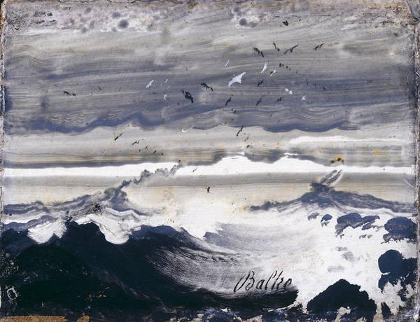 Stormy Sea by Peder Balke