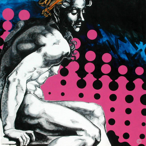 Pop Art Print featuring the painting Ignudo by Jean Pierre Rousselet