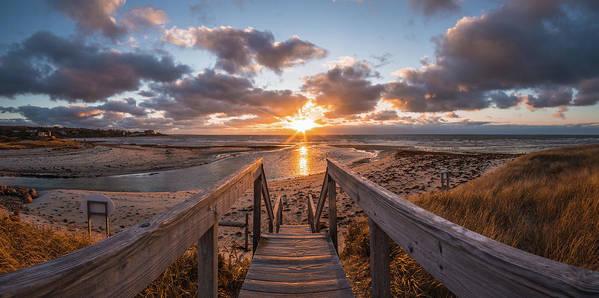 Saconesset Sunset by Kevin Friel
