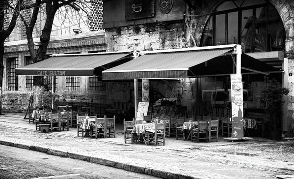 Cafe Sultan Art Print featuring the photograph Cafe Sultan by John Rizzuto