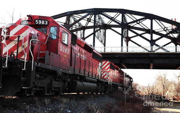 Images Art Print featuring the photograph Train by John Rizzuto