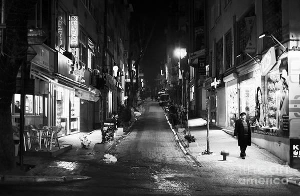 Nisantasi Street Print featuring the photograph Nisantasi Street by John Rizzuto