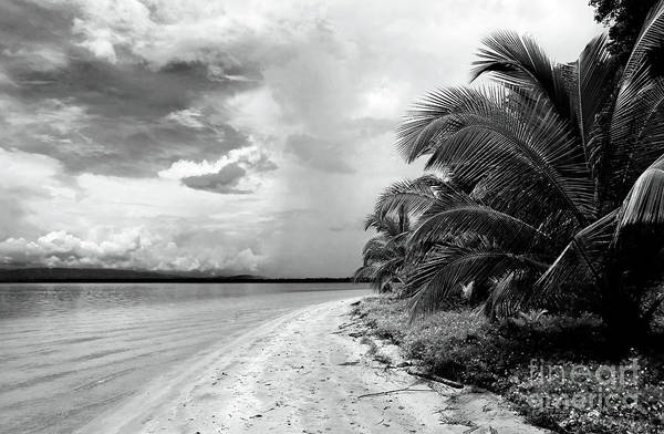 Storm Cloud On The Horizon Art Print featuring the photograph Storm Cloud On The Horizon by John Rizzuto