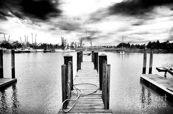 Georgetown Dock Art Print featuring the photograph Georgetown Dock by John Rizzuto