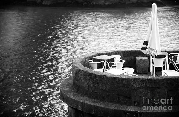 River Seat Art Print featuring the photograph River Seat by John Rizzuto