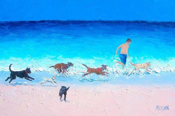 Dog Run by Jan Matson