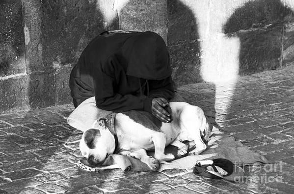 Say A Prayer In Prague Art Print featuring the photograph Say A Prayer In Prague by John Rizzuto