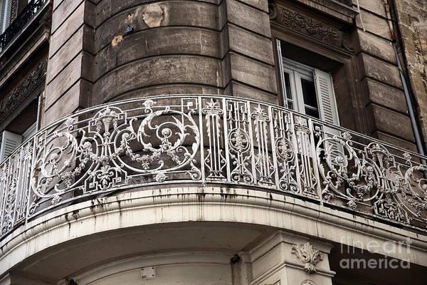 Balcony Design In Avignon Art Print featuring the photograph Balcony Design In Avignon by John Rizzuto