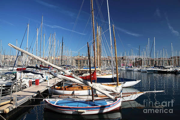 Boat Day In The Port Art Print featuring the photograph Boat Day In The Port by John Rizzuto