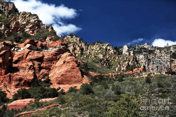 Canyon View Art Print featuring the photograph Canyon View by John Rizzuto