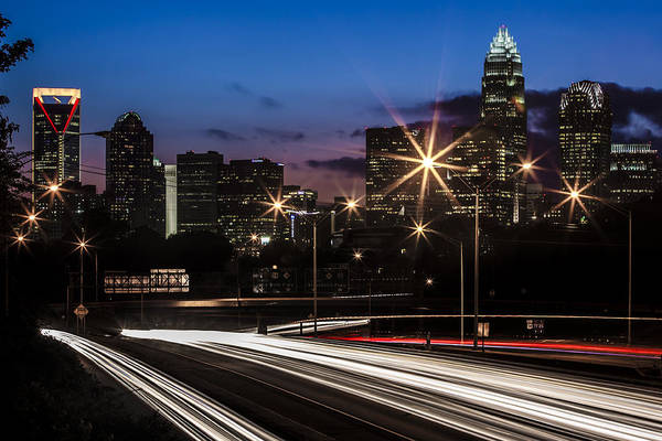 Charlotte Art Print featuring the photograph Charlotte Flow by Chris Austin