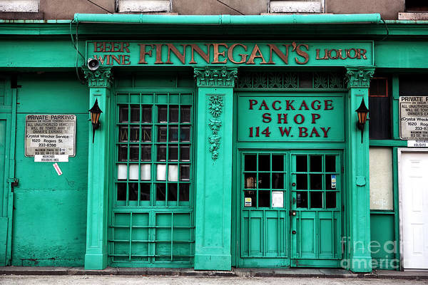 Finnegans Of Savannah Print featuring the photograph Finnegans Of Savannah by John Rizzuto