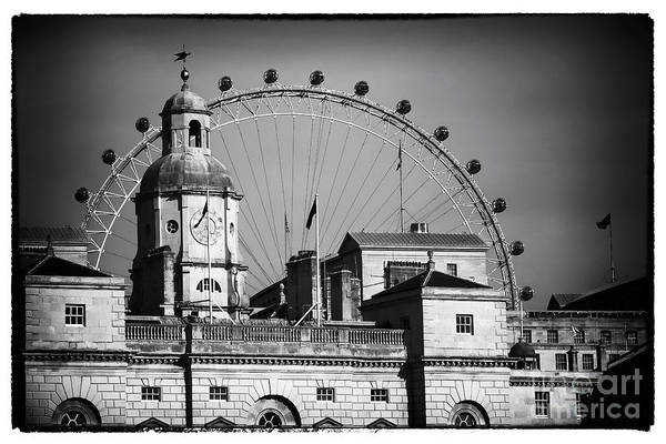 Horse Guards Headquarters Art Print featuring the photograph Horse Guards Headquarters by John Rizzuto