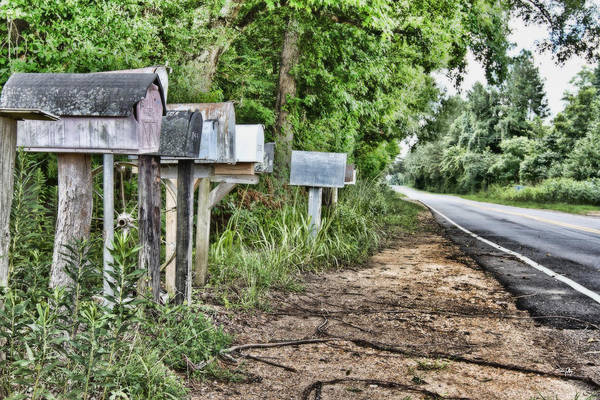Mail Route Art Print featuring the photograph Mail Route by Scott Pellegrin