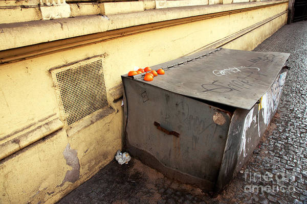 Oranges In Prague Art Print featuring the photograph Oranges In Prague by John Rizzuto