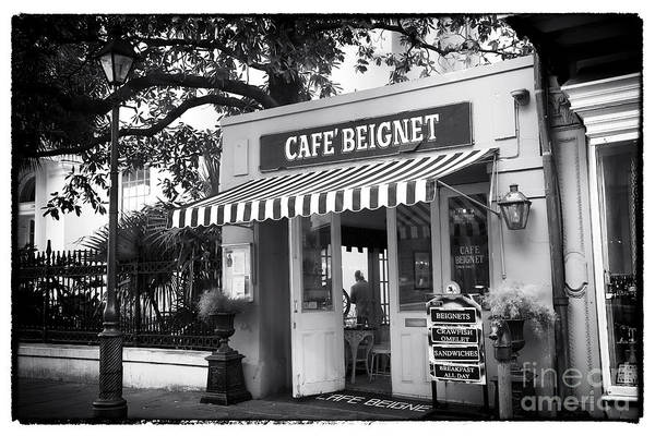 Orleans Cafe Beignet Print featuring the photograph Orleans Cafe Beignet by John Rizzuto