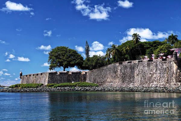 San Juan Wall Art Print featuring the photograph San Juan Wall by John Rizzuto