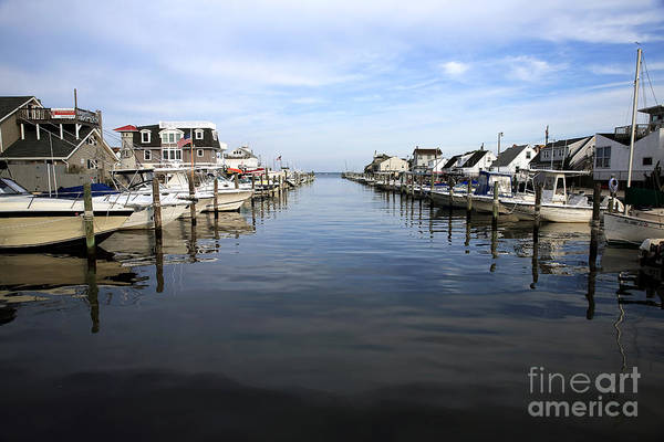 To The Sea At Lbi Art Print featuring the photograph To The Sea At Lbi by John Rizzuto