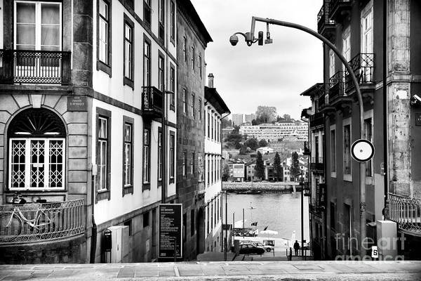 View Across The Douro Print featuring the photograph View Across The Douro by John Rizzuto
