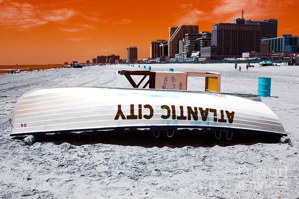 Atlantic City Pop Art Art Print featuring the photograph Atlantic City Pop Art by John Rizzuto