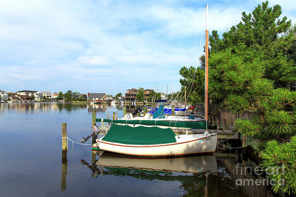 Boats Of Long Beach Island Art Print featuring the photograph Boats Of Long Beach Island Color by John Rizzuto