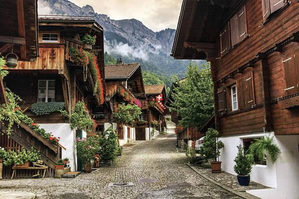 Brienz village, Berne canton, Switzerland by Elenarts - Elena Duvernay photo