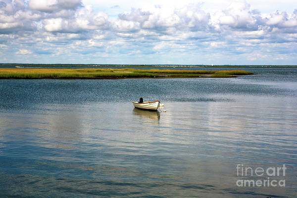 One At Lbi Art Print featuring the photograph One At Lbi by John Rizzuto