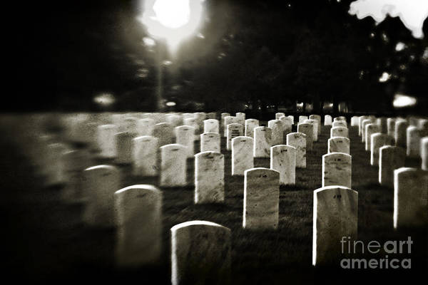 Cemetery Print featuring the photograph Resting Place by Scott Pellegrin