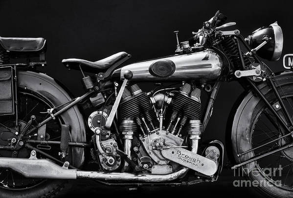 Brough Superior by Tim Gainey